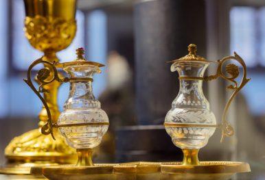 Bohoslužební předměty - kalich, konvičky