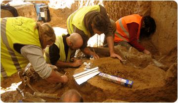 Excavacions a Vallparadís Estació, any 2007. Joan Madurell. ICP