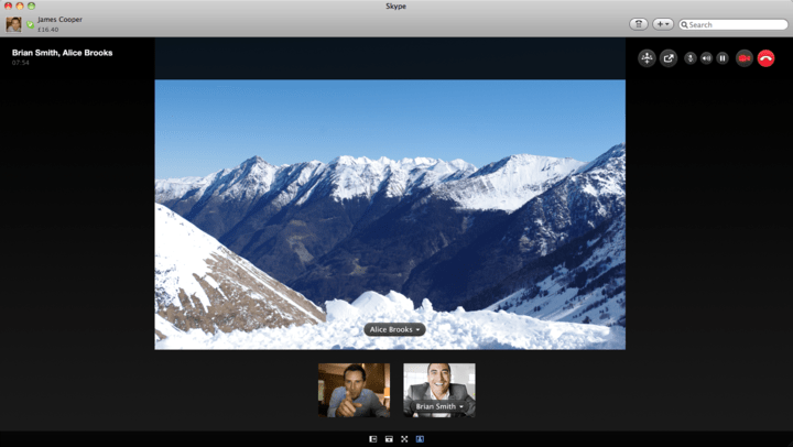 Skype для Mac 5.2