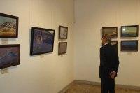 На открытии выставки «Н.К. Рерих и Монголия»