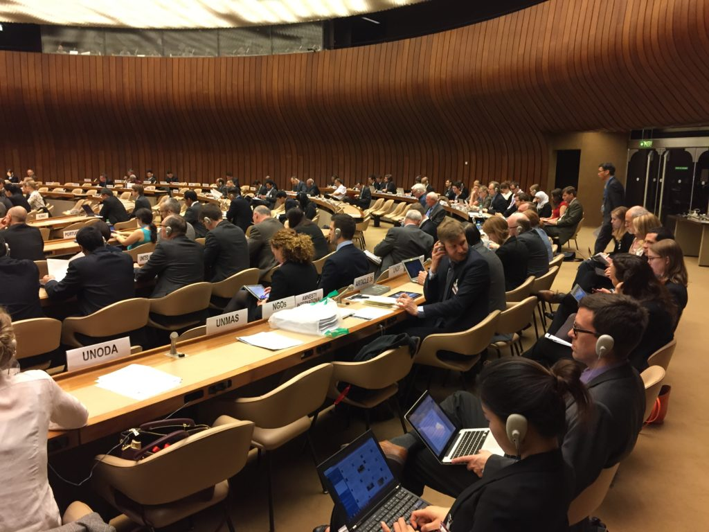 Unpriming the pump: Remystifications of AI at the UN's Convention on Certain Conventional Weapons