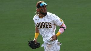 Tatis returns to Padres in OF; Darvish goes on IL