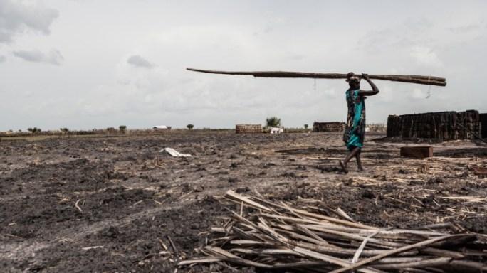 South Sudan: desperate humanitarian situation in Leer