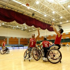 Wheelchair Emirates High Capacity Office Chair Pains And Gains Afghan Basketballers Roll
