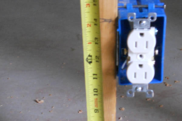 Home Wiring Outlet Height