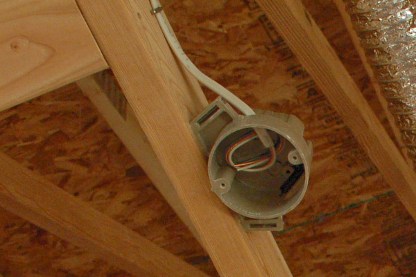 Wiring A Light Fixture And Outlet