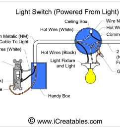 light switch wiring with power coming from the light [ 1619 x 993 Pixel ]