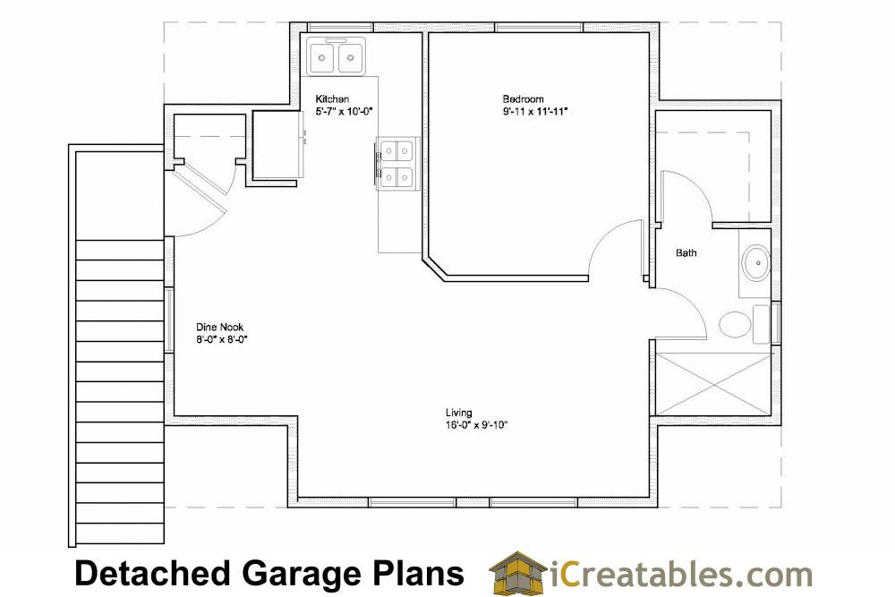 17 Fresh Garage Apartment Floor Plan  Architecture Plans