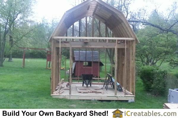 10x12 Shed Plans Loft