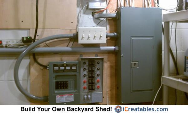 100 Sub Panel Wiring Diagram Generator Shed Plans Portable Generator Enclosure Designs