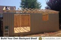 Large Backyard Shed Photos | iCreatables.com Shed Plans