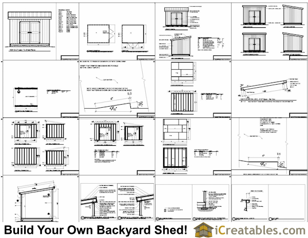 How to build garden shed shelves, free 10x12 lean to shed
