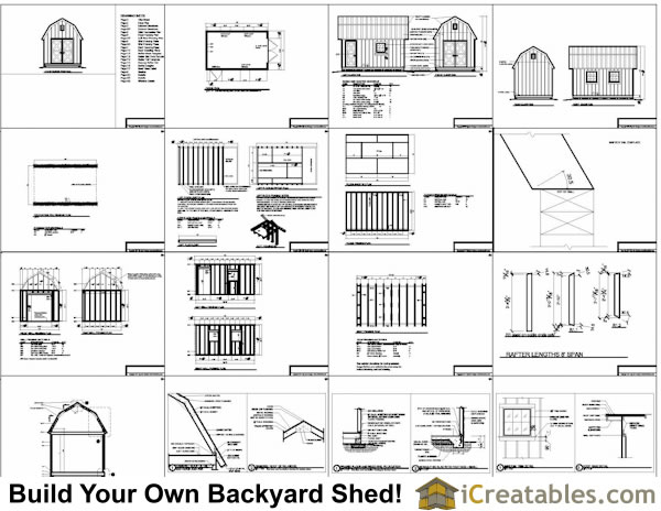 6 x 10 shed plans 50 ~ The Shed Build