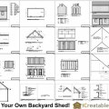 Sample of the 10x20 backyard shed plans 10 x 20 shed plans look like
