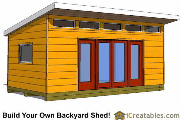 Easy Garden Shed Designs