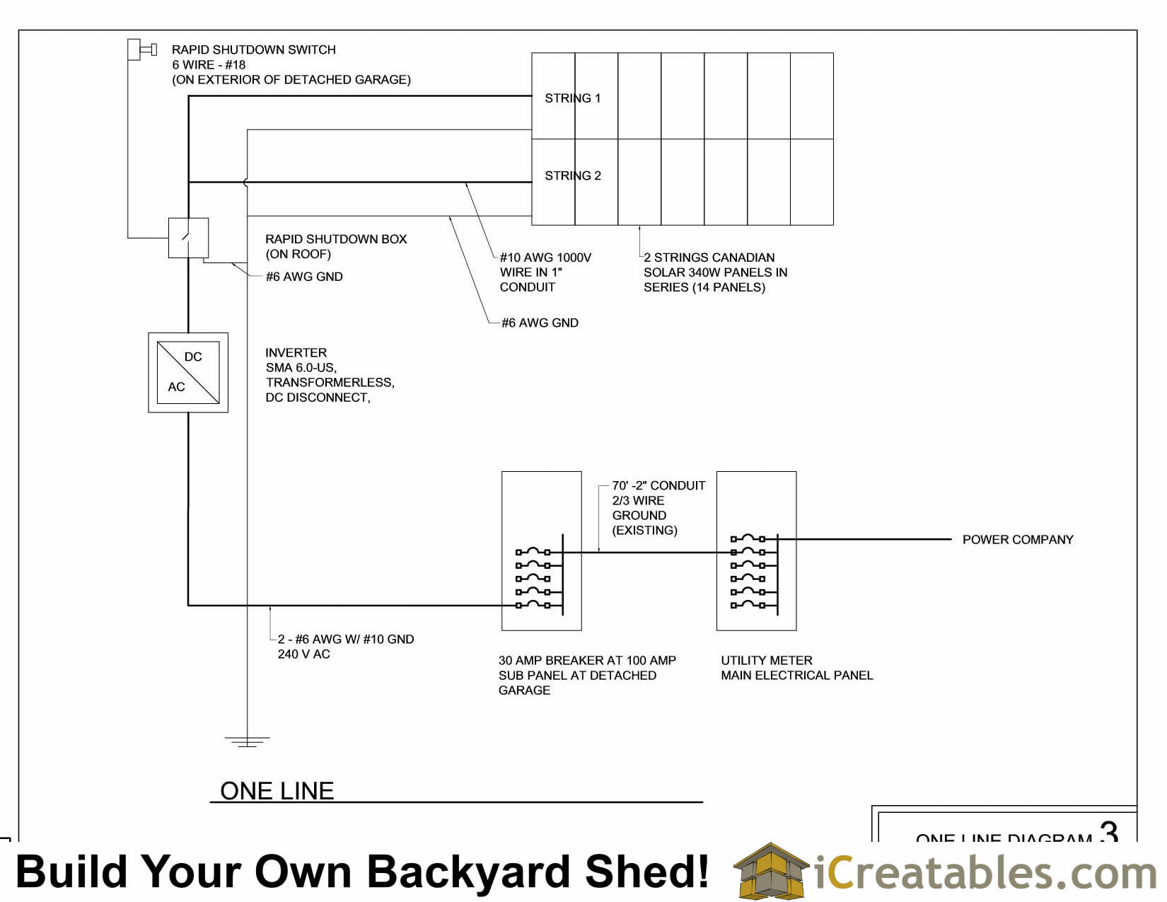 hight resolution of  running build a solar powered shed detached garage workshop on diy wire running new electrical
