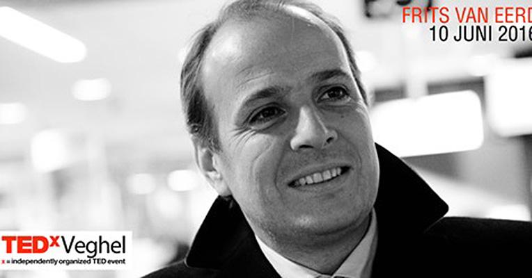 TEDxVeghel opent met Friits van Eerd
