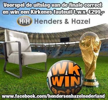 WK Poule   Henders & Hazel