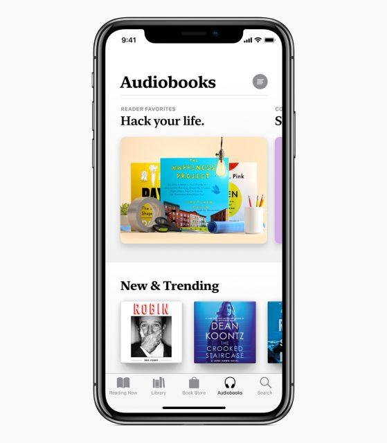 Apple Books audiobooks