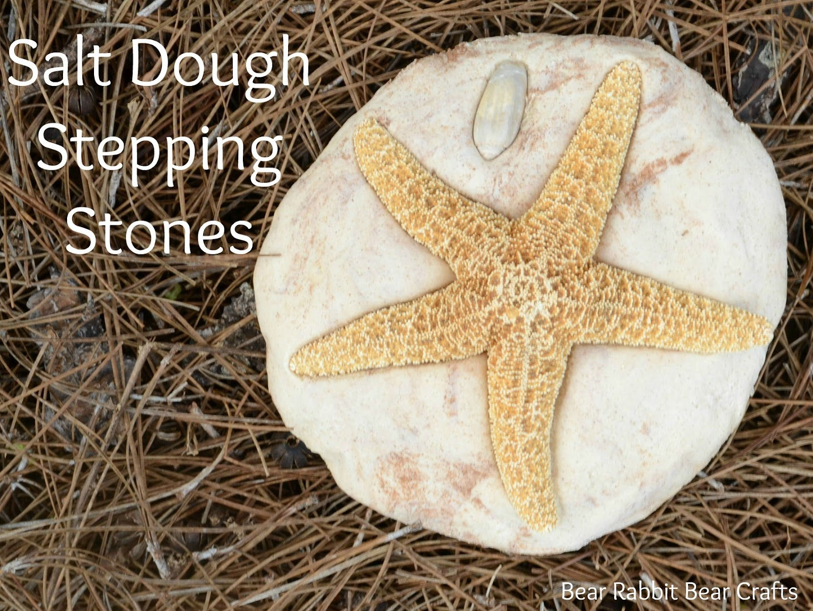 Salt Dough Stepping Stone