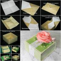 Creative Ideas - DIY Cute Origami Gift Box