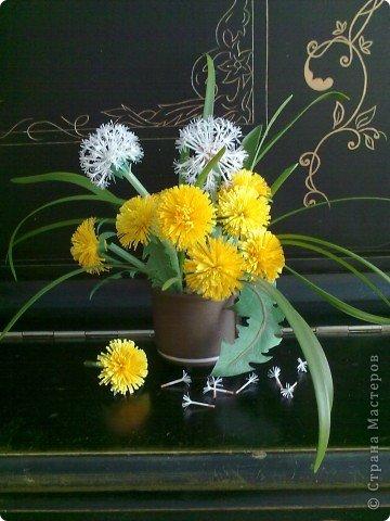 How to Make Beautiful Paper Dandelions  iCreativeIdeascom