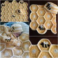Creative Ideas - DIY Adorable Owl Crochet Baby Blanket