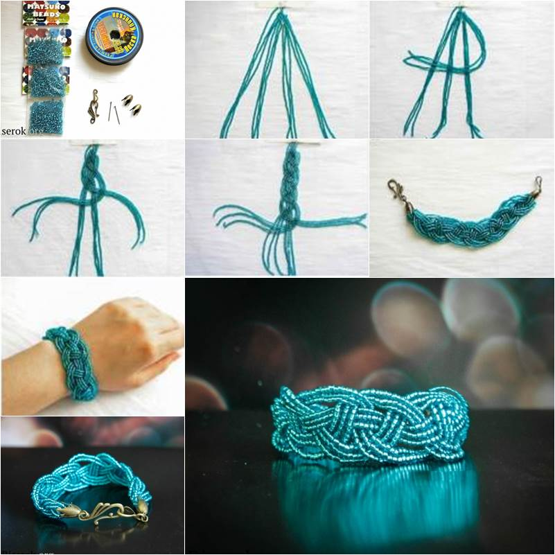 How to DIY Beautiful Celtic Knots Weaving Bracelet