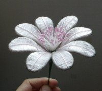 How To DIY Beautiful Flowers From Wire And Thread ...