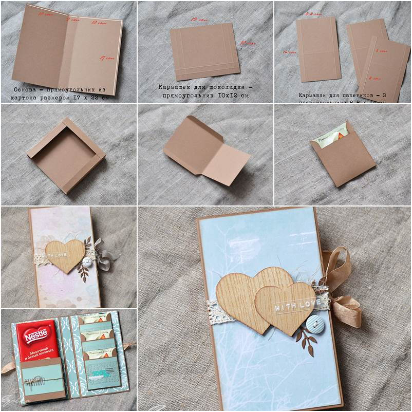 How To DIY Creative Chocolate Gift Box