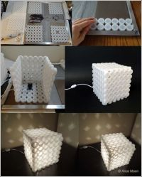 How to Make Unique Lampshade from Soda Can Pop Tabs