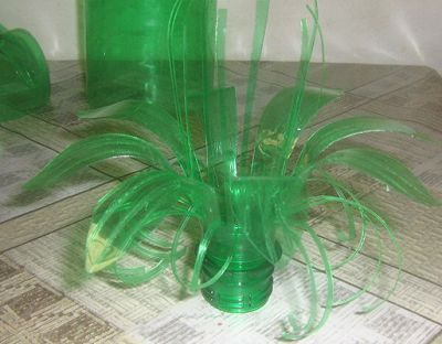Creative DIY Plastic Bottle Flower