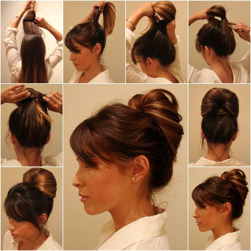 diy elegant ponytail