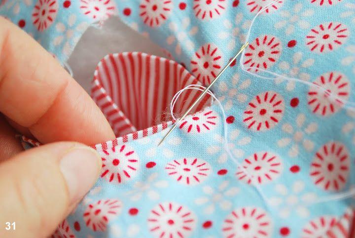 DIY Fabric Alphabet Letter Cushion