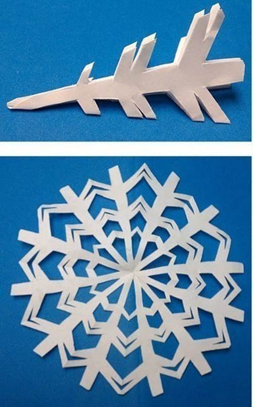 Creative Ideas 8 Easy Paper Snowflake Templates