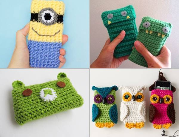 30 Stylish Diy Crochet Phone Cases Icreativeideas Com