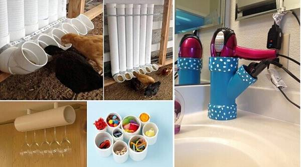 30 Creative Uses Of PVC Pipes In Your Home And Garden