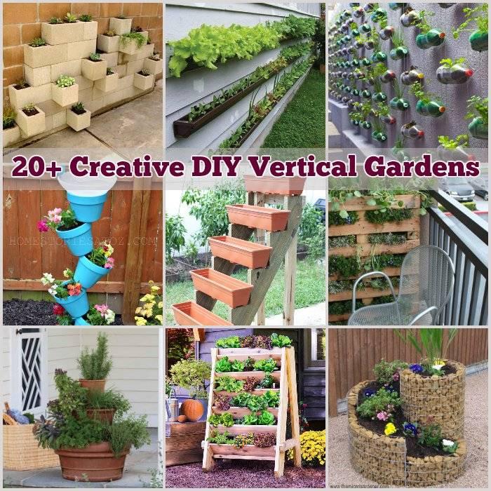 20 creative diy vertical