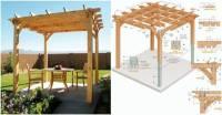 Creative Ideas - DIY Backyard Pergola