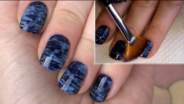 creative diy nail art design