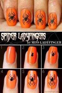 40+ Spooky and Creative DIY Halloween Nail Art Ideas