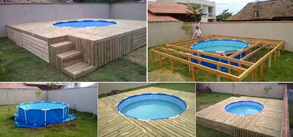 Above Ground Garden Pallets