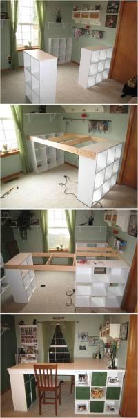 Creative Ideas - DIY Customized Craft Desk ...