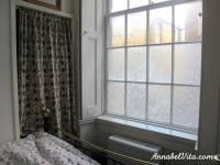 Creative Ideas - DIY Lace Window Treatment With Cornflour ...