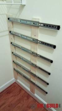 Creative Ideas - DIY Pull-Out Wood Crate Storage To ...