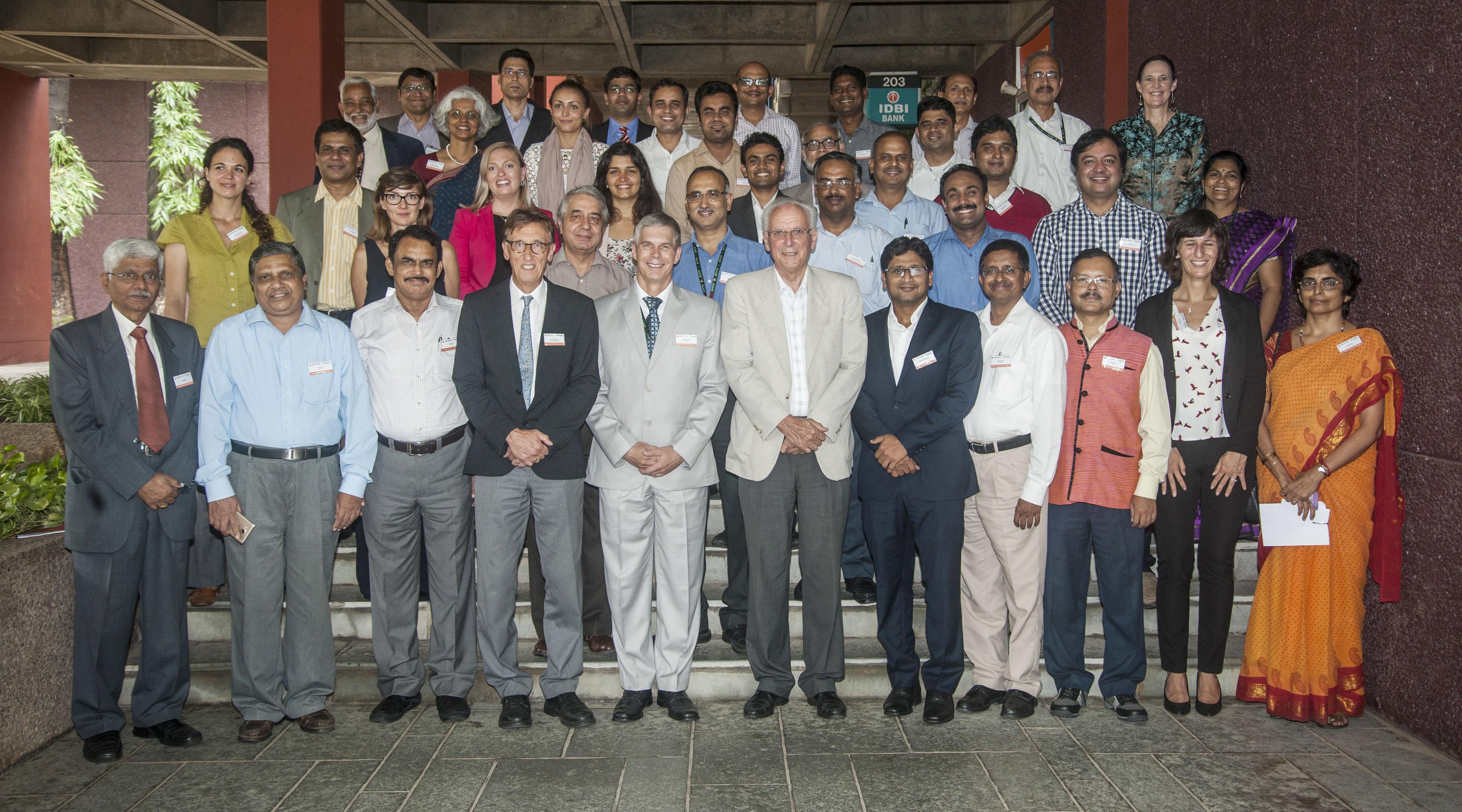Participants at the workshop. Photo: PS Rao, ICRISAT