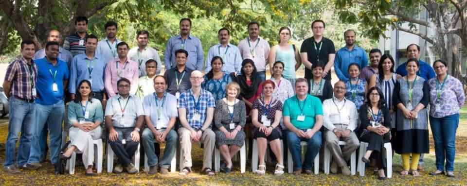 Participants at mini-symposium of University of Leeds and ICRISAT. Photo: ICRISAT.