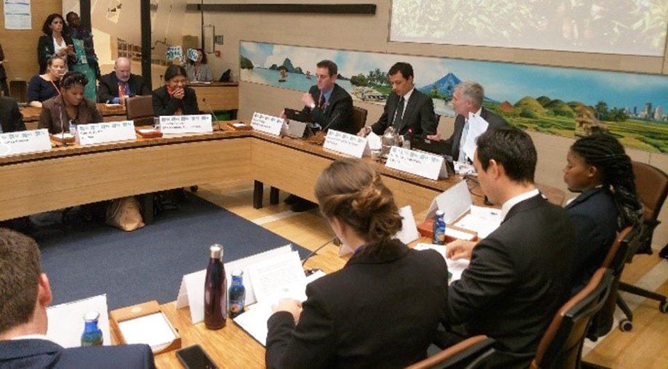 Dr David Bergvinson, Director General, ICRISAT, co-moderating the panel discussion. Photo: Joanna Kane-Potaka/ICRISAT