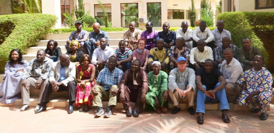 Workshop participants at Sikasso, Mali. Photo: M Diakite, ICRISAT