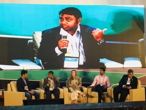 Panel discussion during the session